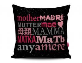 Almofada mother, madre... Tecido 100% Poliéster (microfibra) 33x30cm Personalizado Frente e Verso Sublimação