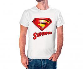 Camiseta dia dos pais mod03 Tecido 100% Poliéster Estampa Colorida A3  Sublimação