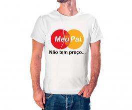 Camiseta dia dos pais mod06 Tecido 100% Poliéster Estampa Colorida A3  Sublimação