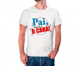 Camiseta dia dos pais mod09 Tecido 100% Poliéster Estampa Colorida A3  Sublimação