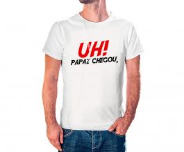 Camiseta dia dos pais mod14 Tecido 100% Poliéster Estampa Colorida A3  Sublimação