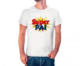Camiseta dia dos pais mod21 Tecido 100% Poliéster Estampa Colorida A3  Sublimação