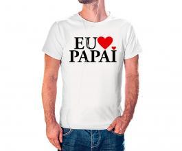 Camiseta dia dos pais mod22 Tecido 100% Poliéster Estampa Colorida A3  Sublimação