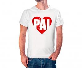 Camiseta dia dos pais mod24 Tecido 100% Poliéster Estampa Colorida A3  Sublimação