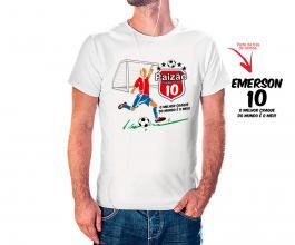 Camiseta dia dos pais mod26 Tecido 100% Poliéster Estampa Colorida A3  Sublimação