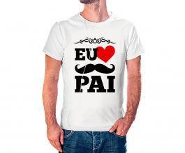 Camiseta dia dos pais mod28 Tecido 100% Poliéster Estampa Colorida A3  Sublimação