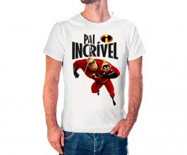 Camiseta dia dos pais mod32 Tecido 100% Poliéster Estampa Colorida A3  Sublimação