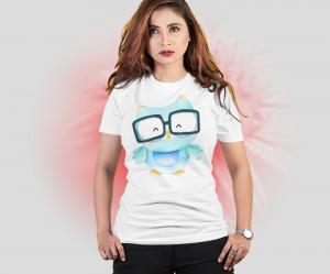 Camiseta Dia dos Professores - Coruja Tecido 100% Poliéster Estampa Colorida A3  Sublimação