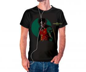 CAMISETA ROBIN Tecido 100% Poliéster Estampa Colorida A3  Sublimação Camiseta na cor preta