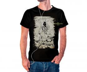 CAMISETA STORM TROOPERS 1 Tecido 100% Poliéster Estampa Colorida A3  Sublimação Camiseta na cor preta