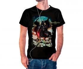 CAMISETA STORM TROOPERS 2 Tecido 100% Poliéster Estampa Colorida A3  Sublimação Camiseta na cor preta