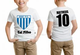 Camiseta torcedor avaí tal filho Tecido 100% Poliéster Estampa Colorida A3  Sublimação