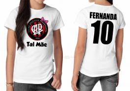 Camiseta torcedor athletico paranaense tal mãe Tecido 100% Poliéster Estampa Colorida A3  Sublimação
