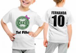 Camiseta torcedor coritiba tal filha Tecido 100% Poliéster Estampa Colorida A3  Sublimação