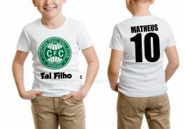 Camiseta torcedor coritiba tal filho Tecido 100% Poliéster Estampa Colorida A3  Sublimação