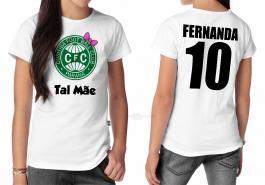Camiseta torcedor coritiba tal mãe Tecido 100% Poliéster Estampa Colorida A3  Sublimação