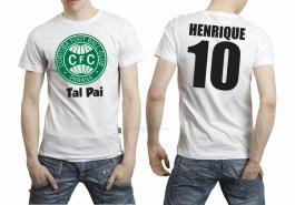 Camiseta torcedor coritiba tal pai Tecido 100% Poliéster Estampa Colorida A3  Sublimação