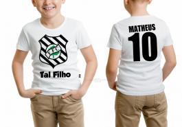 Camiseta torcedor figueirense tal filho Tecido 100% Poliéster Estampa Colorida A3  Sublimação