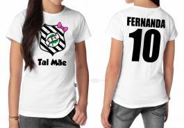 Camiseta torcedor figueirense tal mãe Tecido 100% Poliéster Estampa Colorida A3  Sublimação