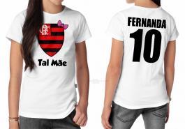 Camiseta torcedor flamengo tal mãe Tecido 100% Poliéster Estampa Colorida A3  Sublimação