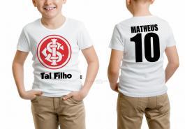 Camiseta torcedor internacional tal filho Tecido 100% Poliéster Estampa Colorida A3  Sublimação