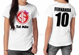 Camiseta torcedor internacional tal mãe Tecido 100% Poliéster Estampa Colorida A3  Sublimação