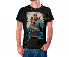 CAMISETA TUNDERCATS Tecido 100% Poliéster Estampa Colorida A3  Sublimação Camiseta na cor preta