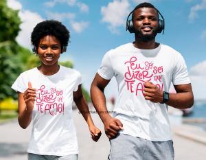 kit camiseta dia dos namorados - meu amor somos um só coração Tecido 100% Poliéster Estampa Colorida A3  Sublimação