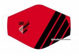 MÁSCARA EM TECIDO FUTEBOL (ATLÉTICO PARANAENSE) MOD621 Estampa personalizada no tecido 100% poliéster   1 camada de TECIDO TRICOLINE 100% ALGODÃO formando uma dupla proteção. Costura