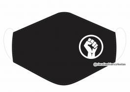 MÁSCARA EM TECIDO MOVIMENTO MOD567 Estampa personalizada no tecido 100% poliéster   1 camada de TECIDO TRICOLINE 100% ALGODÃO formando uma dupla proteção. Costura
