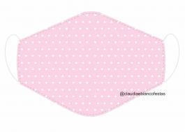 MÁSCARA EM TECIDO MOD272 Estampa personalizada no tecido 100% poliéster   1 camada de TECIDO TRICOLINE 100% ALGODÃO formando uma dupla proteção. Costura