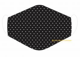 MÁSCARA EM TECIDO MOD277 Estampa personalizada no tecido 100% poliéster   1 camada de TECIDO TRICOLINE 100% ALGODÃO formando uma dupla proteção. Costura