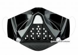 MÁSCARA EM TECIDO STAR WARS MOD468 Estampa personalizada no tecido 100% poliéster   1 camada de TECIDO TRICOLINE 100% ALGODÃO formando uma dupla proteção. Costura