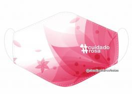 MÁSCARA EM TECIDO OUTUBRO ROSA MOD879 Estampa personalizada no tecido 100% poliéster   1 camada de TECIDO TRICOLINE 100% ALGODÃO formando uma dupla proteção. Costura