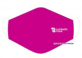 MÁSCARA EM TECIDO OUTUBRO ROSA MOD882 Estampa personalizada no tecido 100% poliéster   1 camada de TECIDO TRICOLINE 100% ALGODÃO formando uma dupla proteção. Costura