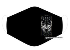 MÁSCARA EM TECIDO SÉRIE NERD MOD1037 Estampa personalizada no tecido 100% poliéster   1 camada de TECIDO TRICOLINE 100% ALGODÃO formando uma dupla proteção. Costura