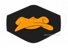 MÁSCARA EM TECIDO MOD022 Estampa personalizada no tecido 100% poliéster   1 camada de TECIDO TRICOLINE 100% ALGODÃO formando uma dupla proteção. Costura