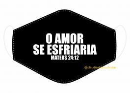 MÁSCARA EM TECIDO JESUS MOD057 Estampa personalizada no tecido 100% poliéster   1 camada de TECIDO TRICOLINE 100% ALGODÃO formando uma dupla proteção. Costura