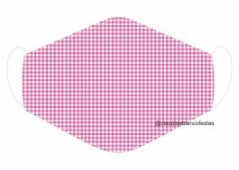 MÁSCARA EM TECIDO MOD081 Estampa personalizada no tecido 100% poliéster   1 camada de TECIDO TRICOLINE 100% ALGODÃO formando uma dupla proteção. Costura