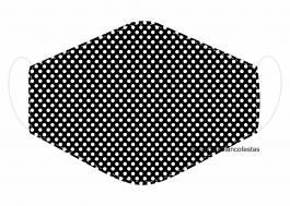 MÁSCARA EM TECIDO MOD083 Estampa personalizada no tecido 100% poliéster   1 camada de TECIDO TRICOLINE 100% ALGODÃO formando uma dupla proteção. Costura