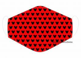 MÁSCARA EM TECIDO INFANTIL MOD085 Estampa personalizada no tecido 100% poliéster   1 camada de TECIDO TRICOLINE 100% ALGODÃO formando uma dupla proteção. Costura
