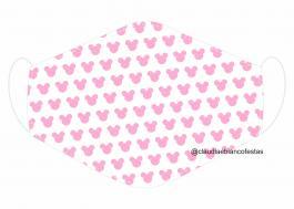 MÁSCARA EM TECIDO INFANTIL MOD088 Estampa personalizada no tecido 100% poliéster   1 camada de TECIDO TRICOLINE 100% ALGODÃO formando uma dupla proteção. Costura