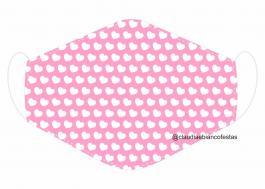 MÁSCARA EM TECIDO INFANTIL MOD089 Estampa personalizada no tecido 100% poliéster   1 camada de TECIDO TRICOLINE 100% ALGODÃO formando uma dupla proteção. Costura