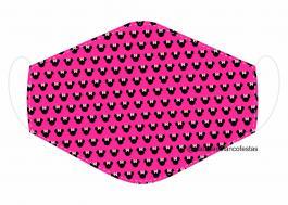 MÁSCARA EM TECIDO INFANTIL MOD090 Estampa personalizada no tecido 100% poliéster   1 camada de TECIDO TRICOLINE 100% ALGODÃO formando uma dupla proteção. Costura