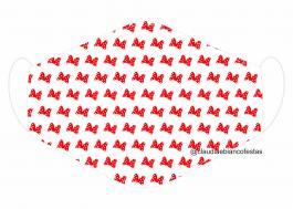 MÁSCARA EM TECIDO INFANTIL MOD091 Estampa personalizada no tecido 100% poliéster   1 camada de TECIDO TRICOLINE 100% ALGODÃO formando uma dupla proteção. Costura