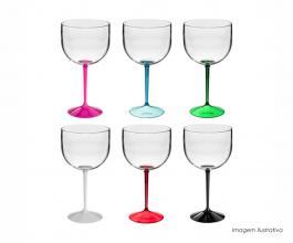 Taça gin shelby bicolor personalizada de 550ml Polietileno 550ml  Silk-Screen  Neoplas