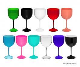 Taça gin shelby personalizada de 550ml Polietileno 550ml  Silk-Screen  Neoplas